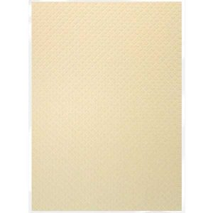 Tonic Studios Craft Perfect Hand Crafted Cotton Paper - Champagne Harlequin class=