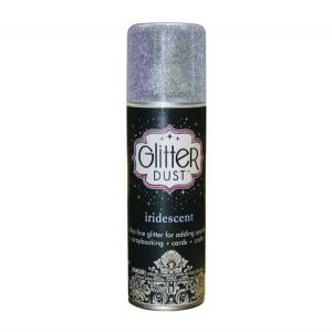 Thermoweb Glitter Dust Aerosol Spray – Iridescent