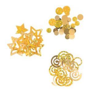 Darice Gold Metallic Confetti