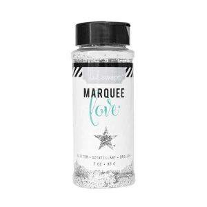 Heidi Swapp Marquee Love Chunky Glitter – White