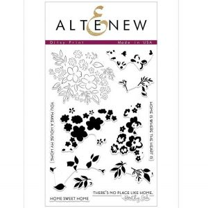 Altenew Ditsy Print Stamp Set