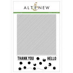 Altenew Pinstripe Stamp Set