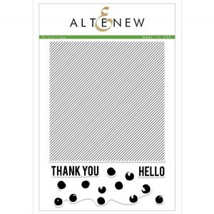 Altenew Pinstripe Stamp Set