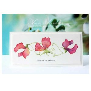 Altenew Sweetest Peas Stamp Set class=