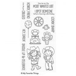 My Favorite Things BB Saddle Up & Celebrate Stamp Set