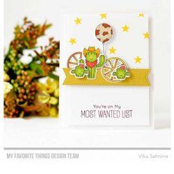 My Favorite Things BB Saddle Up & Celebrate Stamp Set