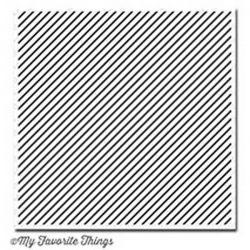 My Favorite Things Diagonal Stripes Background