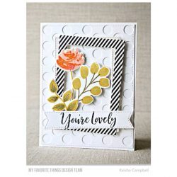 My Favorite Things Painted Prints Stamp Set