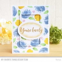 My Favorite Things Brushstroke Expressions Stamp Set