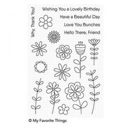My Favorite Things Love Buds Stamp Set