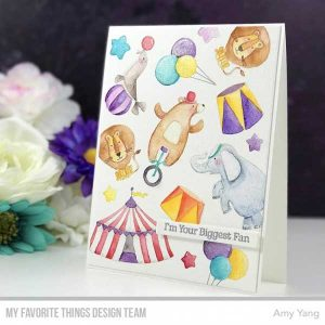 My Favorite Things The Greatest Show Stamp Set class=