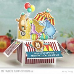 My Favorite Things The Greatest Show Stamp Set