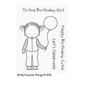 My Favorite Things Pure Innocence Birthday Cutie Stamp
