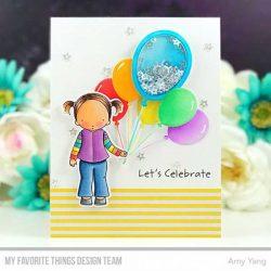 My Favorite Things Mini Balloon Shaker Window & Frame Die-namics