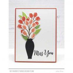 My Favorite Things Flower Vase Die-namics