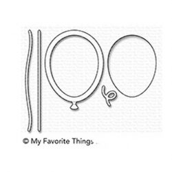 My Favorite Things Mini Balloon Shaker Window & Frame Die-namics