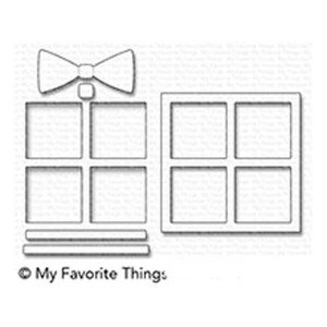 My Favorite Things Gift Shaker Window & Frame Die-namics