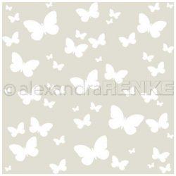 Alexandra Renke Butterfly Stencil