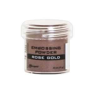 Ranger Rose Gold Metallic Embossing Powder class=