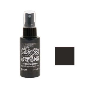 Tim Holtz Distress Spray Stain – Black Soot