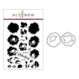 Altenew Fabulous Floral Stamp & Die Bundle