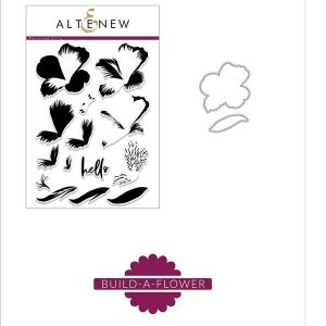 Altenew Build a Flower: Peruvian Lily Stamp & Die Bundle