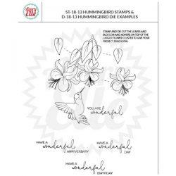 Avery Elle Hummingbird Stamp Set