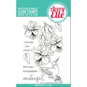 Avery Elle Hummingbird Stamp Set