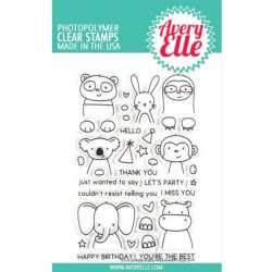 Avery Elle Peek-A-Boo Pals Stamp Set