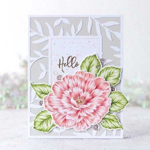 Altenew Beautiful Heart Stamp Set class=