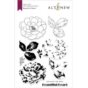Altenew Beautiful Heart Stamp Set