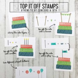 Concord & 9th Top It Off Stamp Set