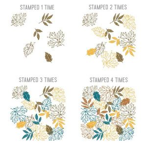 Concord & 9th Thankful Leaves Turnabout Stamp Set class=