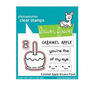 Lawn Fawn Caramel Apple Lawn Cuts class=