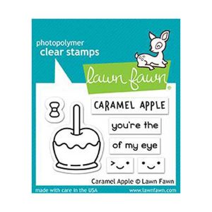 Lawn Fawn Caramel Apple Stamp Set