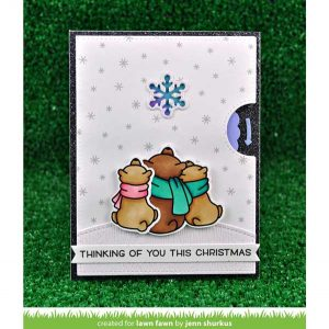 Lawn Fawn Winter Skies Stamp Set class=