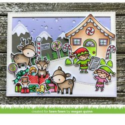 Lawn Fawn Holiday Helpers Lawn Cuts
