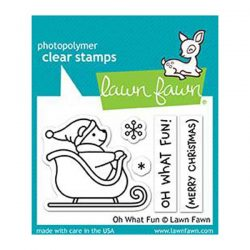 Lawn Fawn Oh What Fun Stamp Set