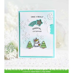 Lawn Fawn Say What? Christmas Critters Stamp Set class=