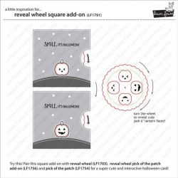 Lawn Fawn Reveal Wheel Square Add-On Lawn Cuts