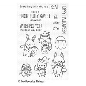 My Favorite Things Frightfully Sweet Stamp Set