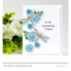 My Favorite Things Fluttering Friends Stamp Set