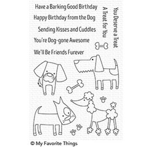 My Favorite Things Dog-gone Awesome Stamp Set