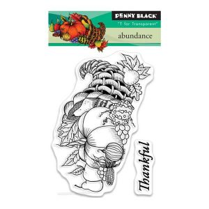 Penny Black Abundance Clear Stamp
