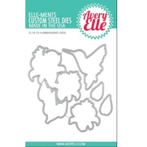 Avery Elle Hummingbird Die Set