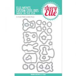 Avery Elle Peek-A-Boo Pals Die Set