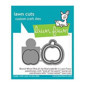 Lawn Fawn Reveal Wheel Pick of the Patch Add-On Lawn Cuts