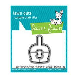 Lawn Fawn Caramel Apple Lawn Cuts