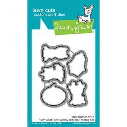 Lawn Fawn Say What? Christmas Critters Lawn Cuts