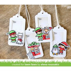 Lawn Fawn Say What? Gift Tags Lawn Cuts class=
